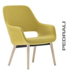 Pedrali loungestoel Babila Comfort 2759