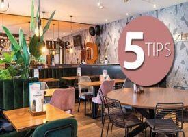 Interieur reset: 5 tips voor de restyling van uw horecazaak