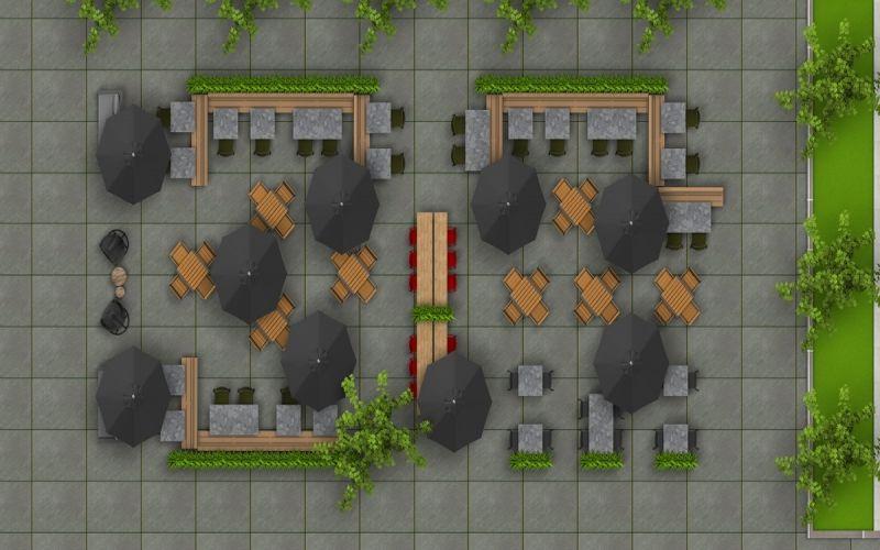 Horeca terras inrichting: een doordachte indeling verkoopt zichzelf